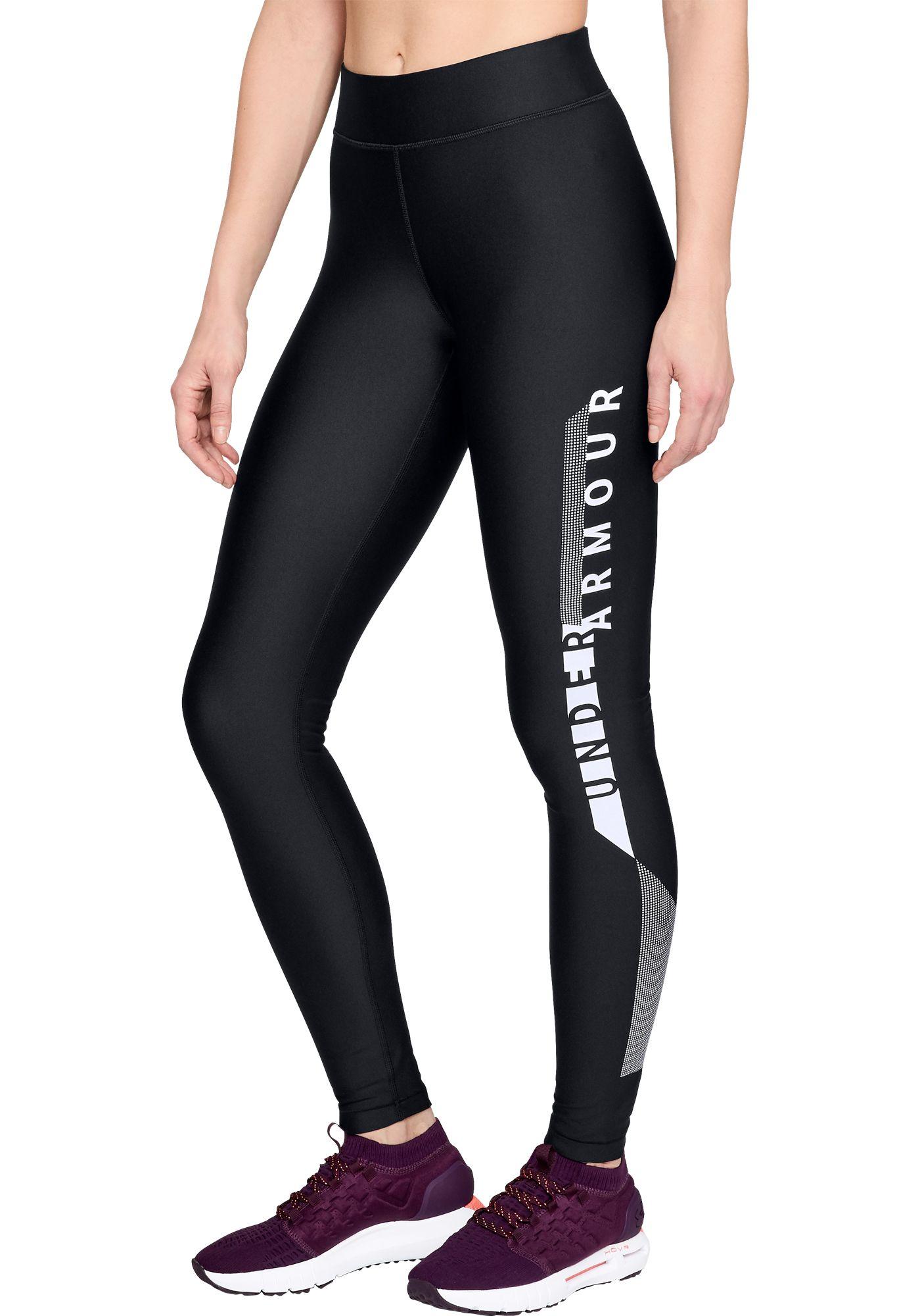 Under Armour Women's HeatGear Graphic Compression Leggings
