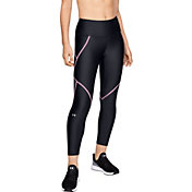 e61067f311579 Under Armour Women's HeatGear Armour Edgelit Ankle Crop Leggings