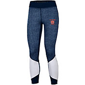 Under Armour Women's Auburn Tigers Blue Performance Leggings