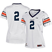 Under Armour Women's Auburn Tigers #2 Replica Football White Jersey