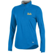 Under Armour Women's UCLA Bruins True Blue Charged Cotton Quarter-Zip Shirt