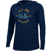 Under Armour Women's UCLA Bruins Navy Pinhole Funnel Hoodie