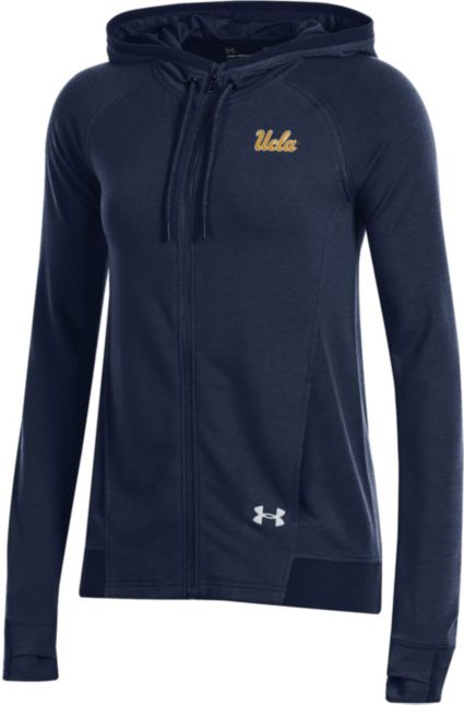 Under Armour Women s UCLA Bruins Navy Featherweight Fleece Full-Zip Hoodie.  noImageFound b035cfa308