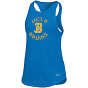 Under Armour Women's UCLA Bruins True Blue Threadborne Spine Tank Top