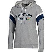Under Armour Women's Notre Dame Fighting Irish Grey Iconic Threadborne Hoodie