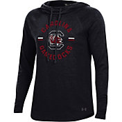 Under Armour Women's South Carolina Gamecocks Pinhole Funnel Black Hoodie