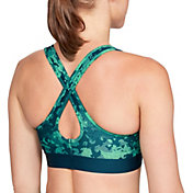 Under Armour Women's Armour Mid Crossback Printed Sports Bra