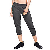 Under Armour Women's Rival Fleece Crop Pants