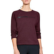 Under Armour Women's Rival Fleece Crewneck Sweatshirt