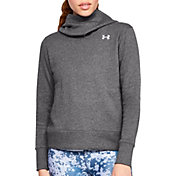 Under Armour Women's Cotton Rival Fleece Logo Hoodie