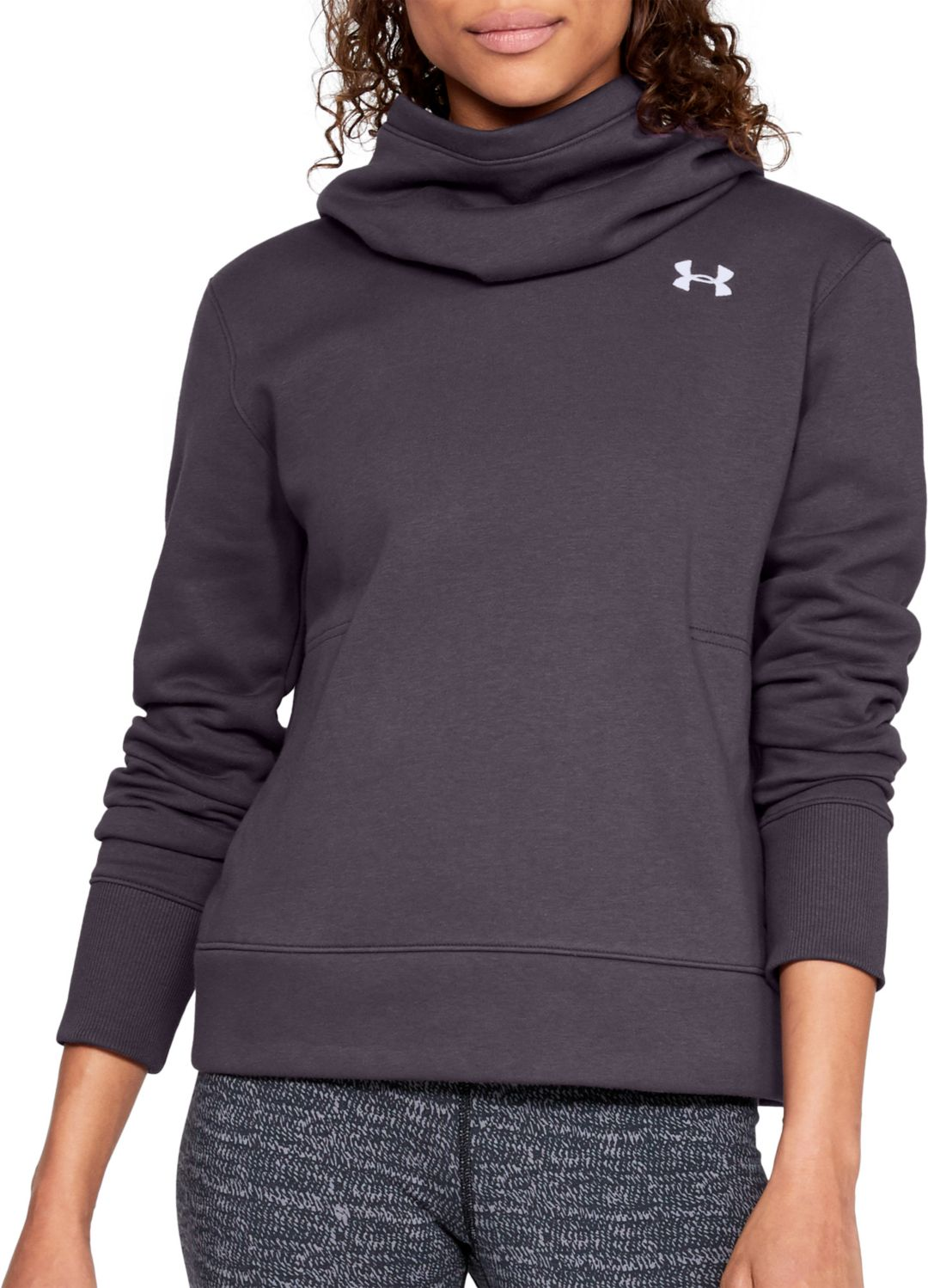 4b24c49e Under Armour Women's Cotton Rival Fleece Logo Hoodie