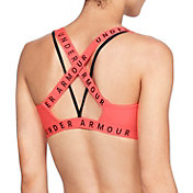 Under Armour Women's Strappy Wordmark Sport Bralette