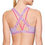 Under Armour Women's Strappy Wordmark Sports Bralette