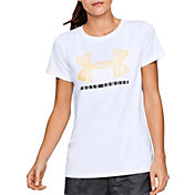 Under Armour Women's Tech Sportstyle Big Logo Graphic T-Shirt