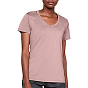 Under Armour Women's Tech Color Shift V-Neck T-Shirt