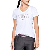 Under Armour Women's Tech V-Neck T-Shirt