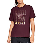 Under Armour Women's Project Rock Respect Graphic Girlfriend T-Shirt