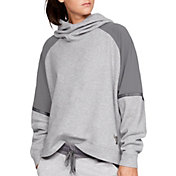 Under Armour Women's Project Rock Knit Oversized Hoodie
