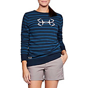 Under Armour Women's Threadborne Shoreline Terry Fleece Long Sleeve Shirt