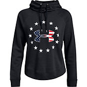 Under Armour Women's Freedom Logo Favorite Fleece Hoodie