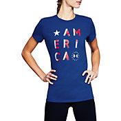 Under Armour Women's Freedom America Short Sleeve T-Shirt