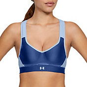 Under Armour Women's Warp Knit High-Impact Running Sports Bra