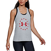 Under Armour Women's UA Freedom Logo 2.0 Tank Top