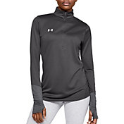 Under Armour Women's Locker 1/2 Zip Long Sleeve Shirt