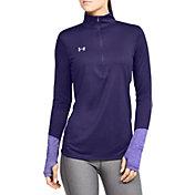 Under Armour Women's Locker 1/2 Zip Long Sleeve Shirt