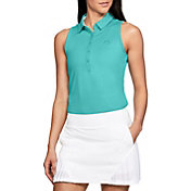 Under Armour Women's Zinger Sleeveless Golf Polo