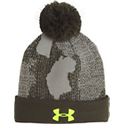 Under Armour Youth Pom UPD Beanie
