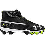 975c394e3b Product Image · Under Armour Kids' Harper 3 Mid Baseball Cleats · Black/ White · Red/ ...