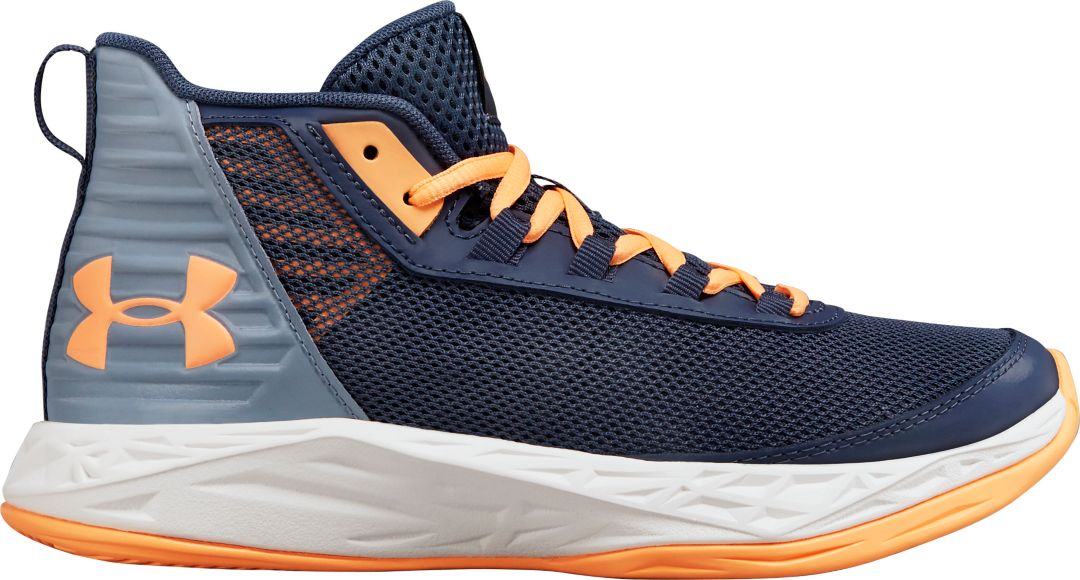4ad4aa908c Under Armour Kids' Grade School Jet 2018 Basketball Shoes | DICK'S ...
