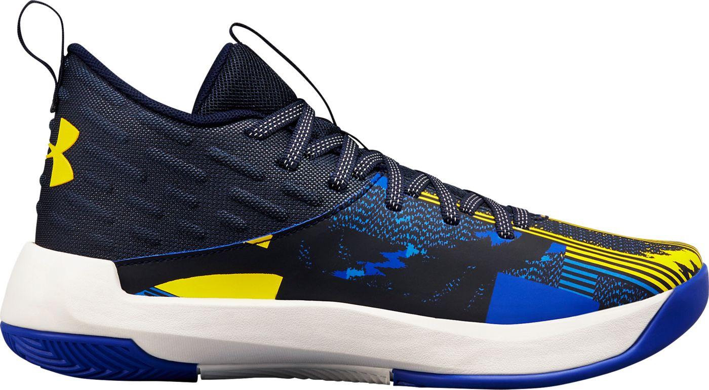 Under Armour Kids' Grade School Lightning 5 Basketball Shoes
