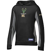 Under Armour Youth Milwaukee Bucks Lockup Hoodie