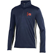 Under Armour Youth Auburn Tigers Blue Tech Quarter-Zip Performance Shirt