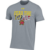 Under Armour Youth Maryland Terrapins Grey 'Fear The Turtle' T-Shirt