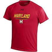 Under Armour Youth Maryland Terrapins Red Tech T-Shirt
