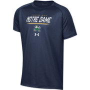 Under Armour Youth Notre Dame Fighting Irish Navy Tech Performance T-Shirt