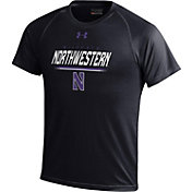 Under Armour Youth Northwestern Wildcats Tech Black T-Shirt