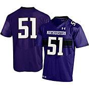Under Armour Youth Northwestern Wildcats #51 Purple Replica Football Jersey