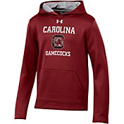 Under Armour Youth South Carolina Gamecocks Garnet Armourfleece Pullover Performance Hoodie