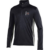 Under Armour Youth South Carolina Gamecocks Garnet Tech Quarter-Zip Performance Shirt