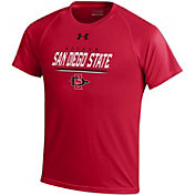 Under Armour Youth San Diego State Aztecs Scarlet Tech T-Shirt