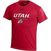 Under Armour Youth Utah Utes Crimson Tech T-Shirt