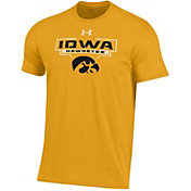 Under Armour Youth Iowa Hawkeyes Gold Performance Cotton T-Shirt