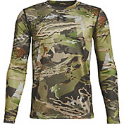 f118fea8549a4 Product Image · Under Armour Youth Early Season Long Sleeve Technical Shirt