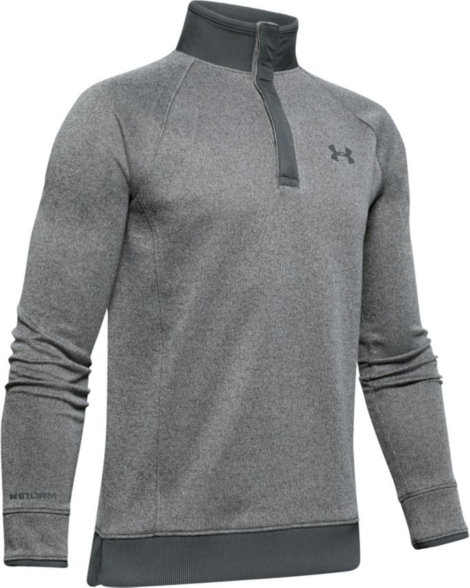 detailed pictures convenience goods the best Under Armour Boys' Storm Half-Snap Golf Pullover