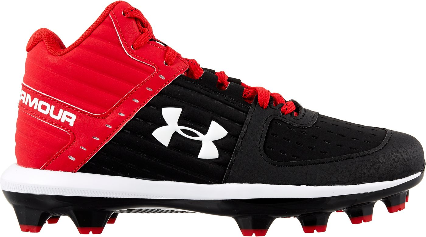Under Armour Kids' Yard Mid TPU Baseball Cleats