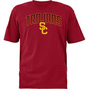 USC Authentic Apparel Men's USC Trojans Cardinal Rescender Wave T-Shirt